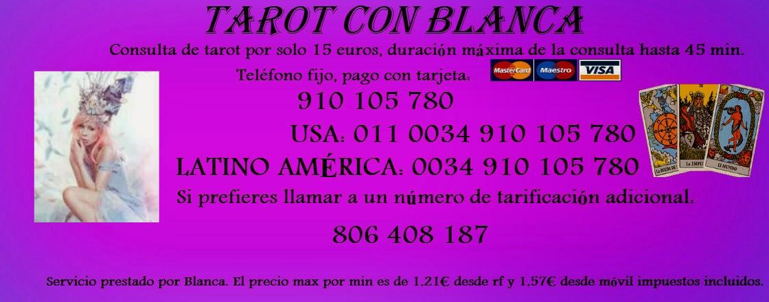 Tarot con Blanca