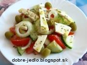 Grécky šalát - recept