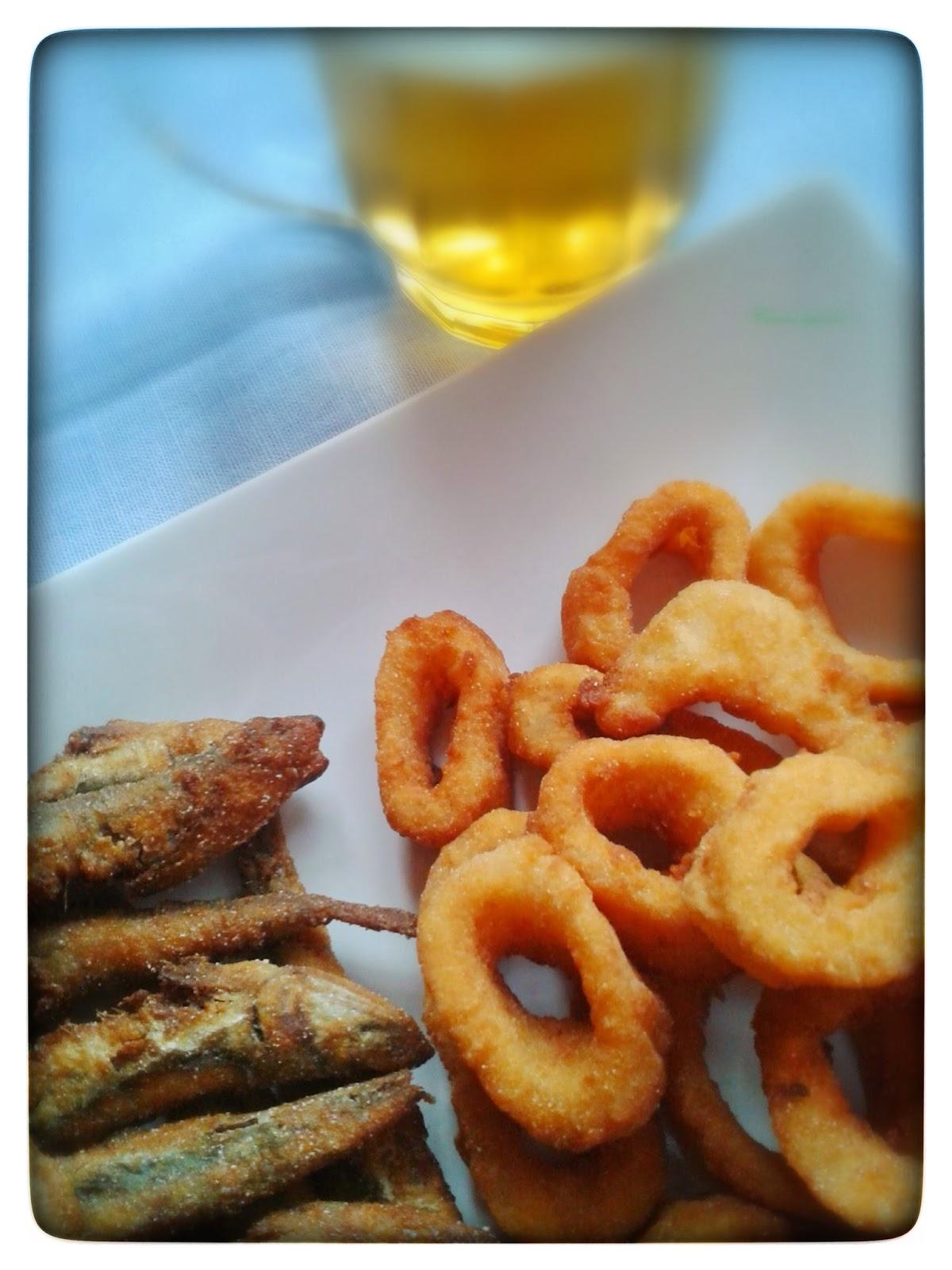 Calamares Y Gueldes Fritos