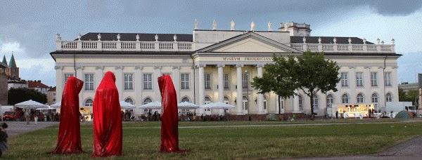 Manfred Kielnhofer's Time Guards (Fridericianum Art Museum de Kassel)