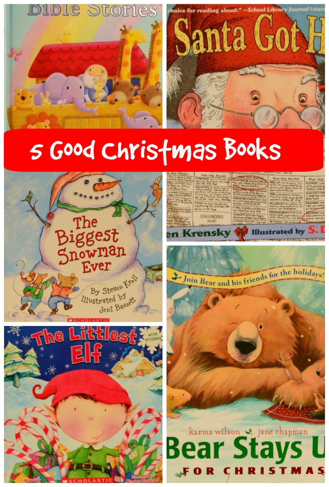 The Practical Mom: 5 Good Christmas Related Books - Introducing Christmas to my 3 y.o.