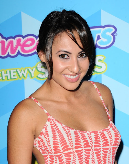 Actress @ Francia Raisa - Just Jared's Summer Bash Pool Party in LA