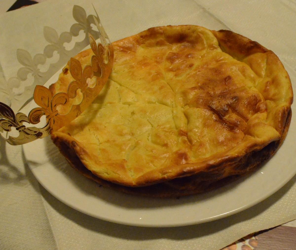 Galette des rois au goumeau cc cuisine - Galette des rois herve cuisine ...