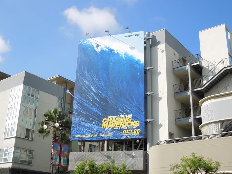 Chasing Mavericks movie billboard