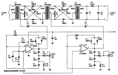 voice scrambler disguiser circuit diagram wiring diagram content