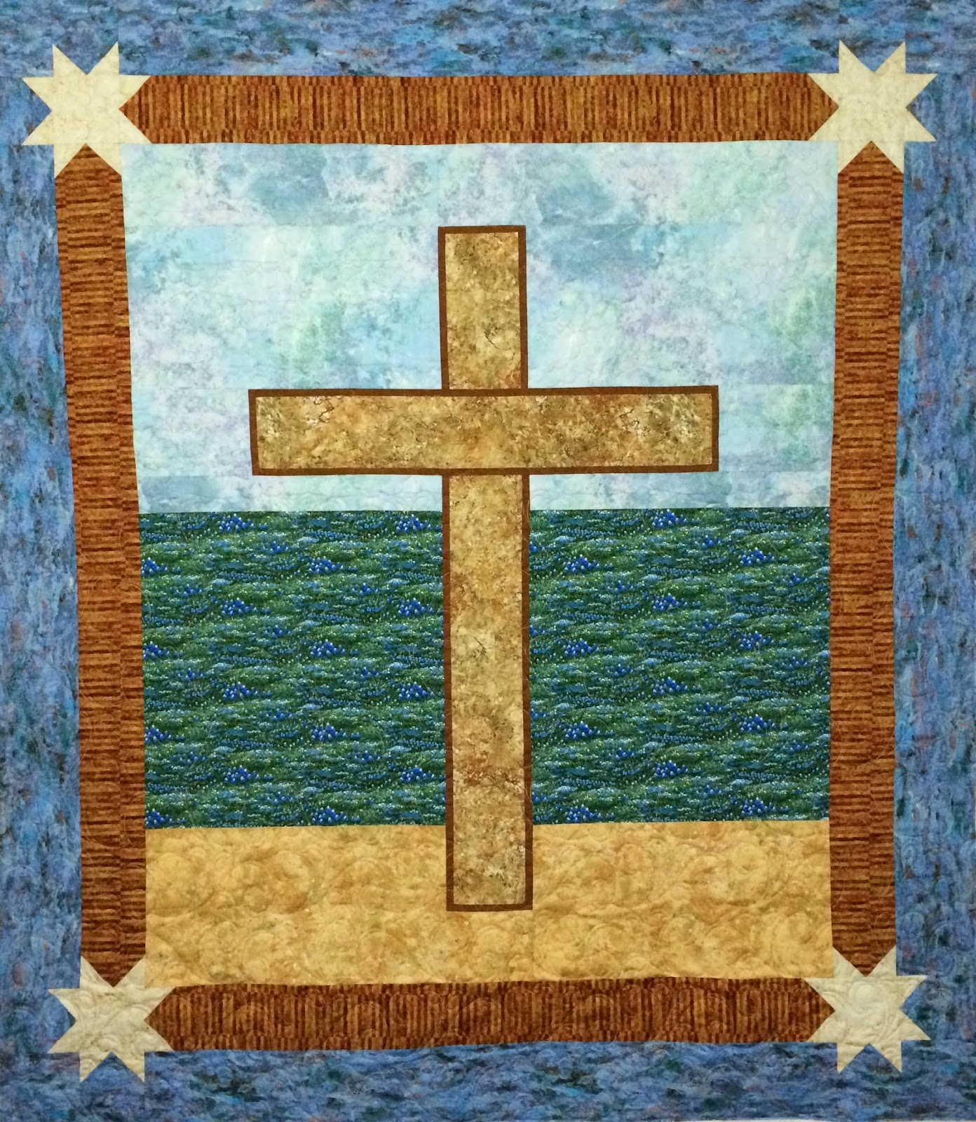 Peggy Krebs Easter Cross Quilt