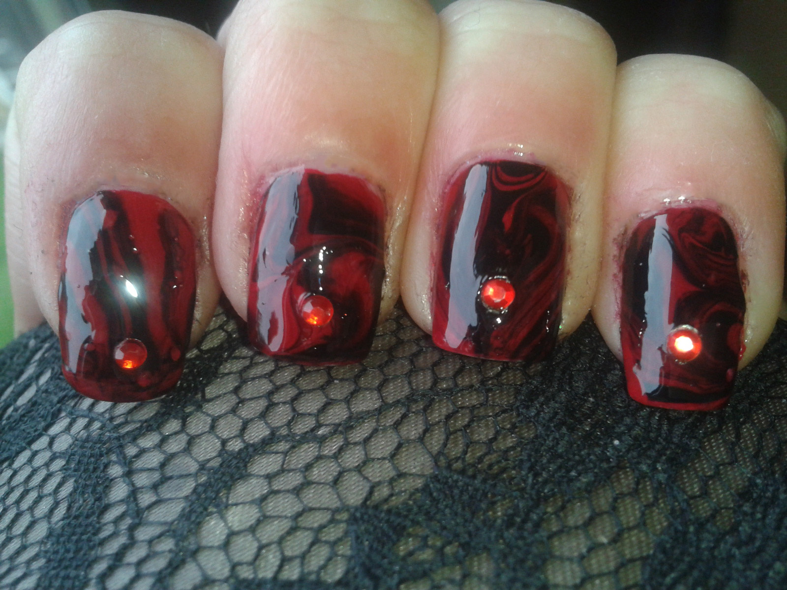 Always Polished Nails Once Upon A Time Nail Art Challenge Favourite Villain