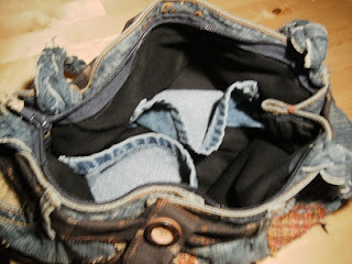 Jean Bag Refashion