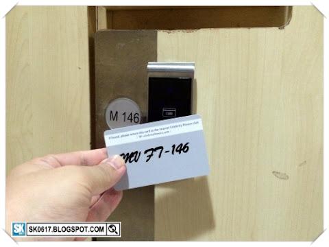 Storage Locker in Gym