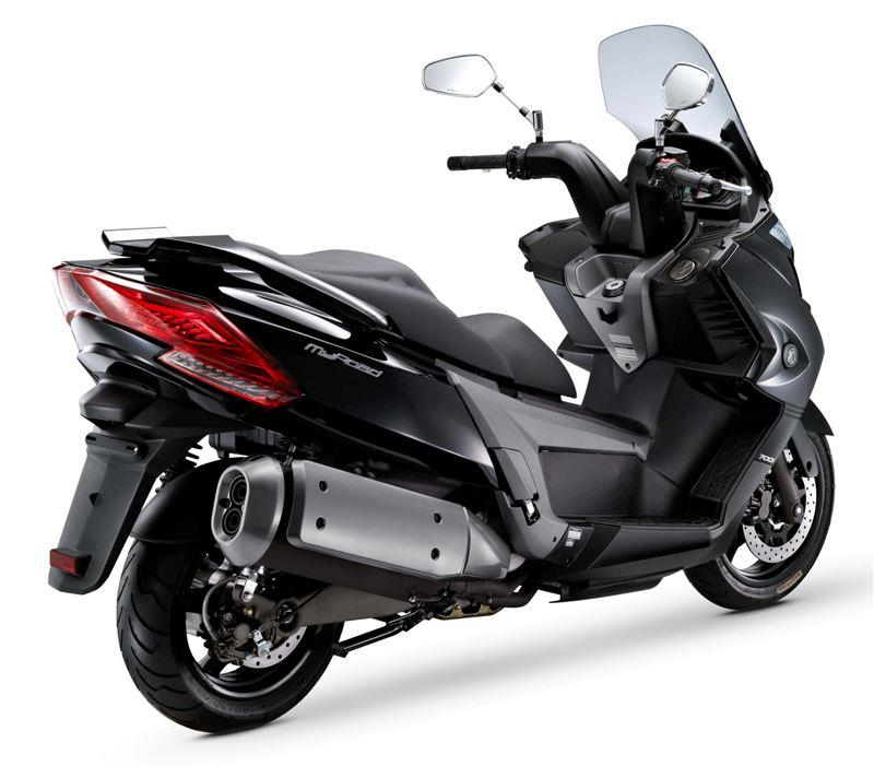 powerful bikes kymco myroad 700i ya esta de venta en italia. Black Bedroom Furniture Sets. Home Design Ideas