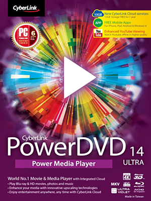 CyberLink PowerDVD Ultra v14.0.4412.58