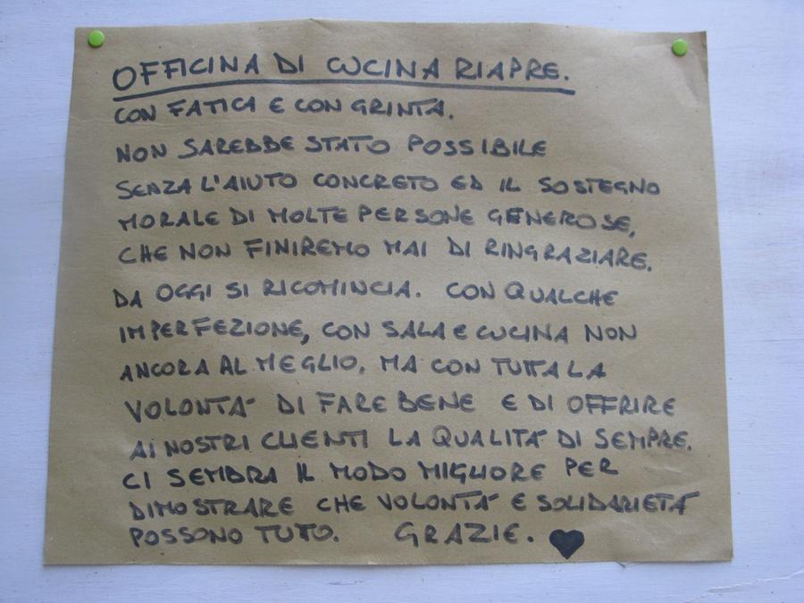 Milano food week la spiritualit di leeman e la forza for Officina di cucina idee albenga