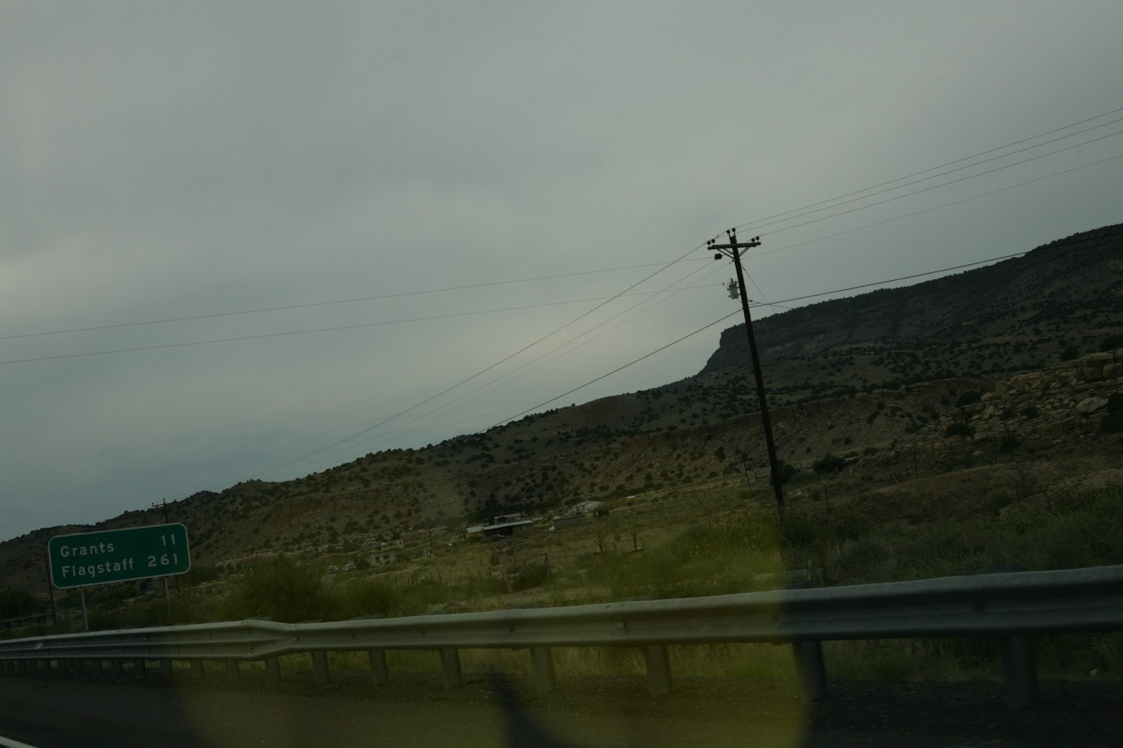 Driving to Flagstaff