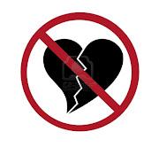 corazones signo no corazones rotos