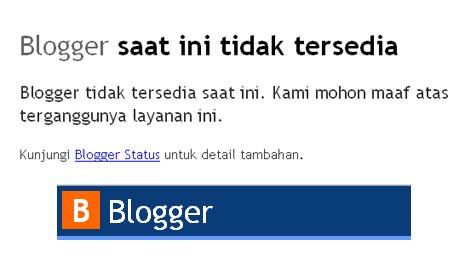 blogger is error