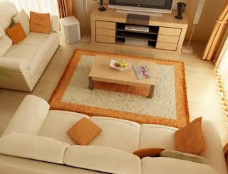 Desain Ruang Keluarga Rumah Minimalis Modern