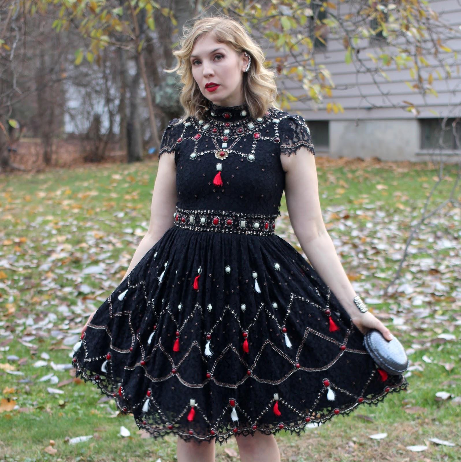 Bargainista Style; My $1,897 Alice + Olivia Voloshin Embellished ...