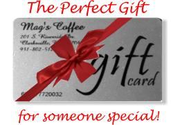 Mag's Coffee Shop Gift Card