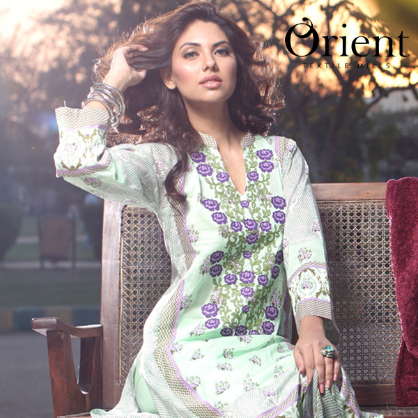 Orient New Lawn Dress Collection