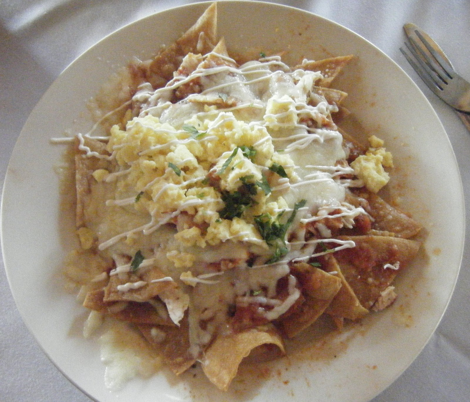 Homemade Chilaquiles Recipes — Dishmaps