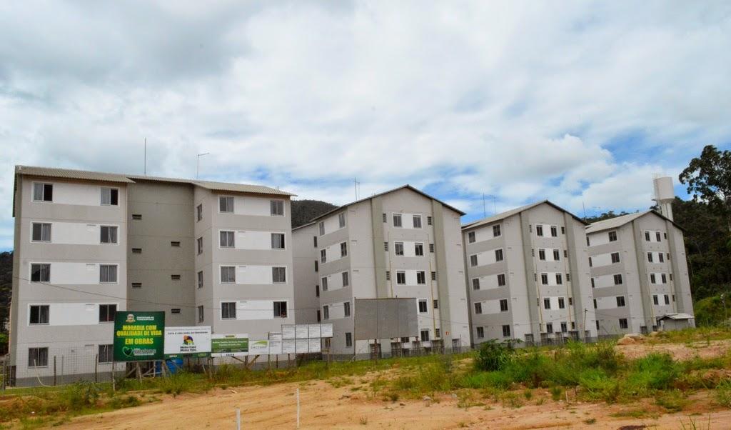 Cerca de 1.600 unidades habitacionais estão sendo construídas na Fazenda Ermitage em Teresópolis