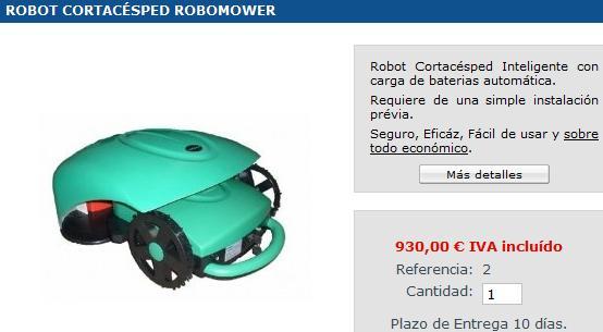 Robot aspirador cortac sped autom ticos - Precios de cortacesped ...