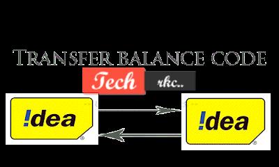 IDEA to IDEA Balance Transfer Code