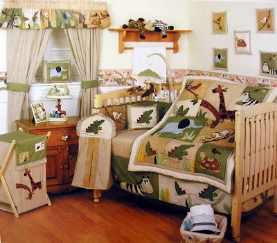 Boys Jungle Theme Baby Room
