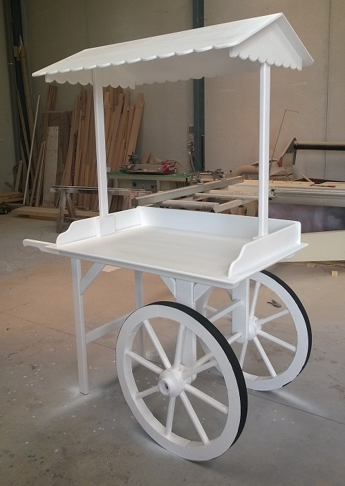 madelet carritos en madera para candy bar