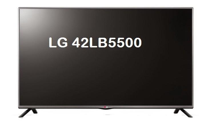 LG 42LB5500 specs
