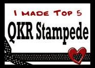 12 x QKR Stampede Top 5