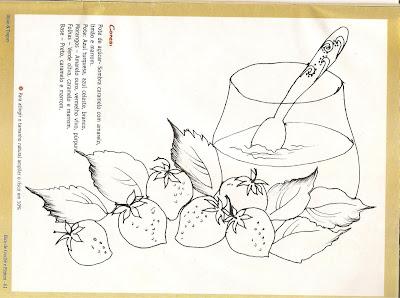خطر لوحة النسيج مع السكر وعاء والفراولة