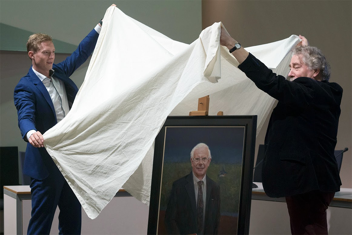 covering up the painting by and with Rein Pol