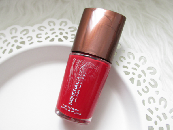 Mineral Fusion Nail Laquer - Crimson Clay