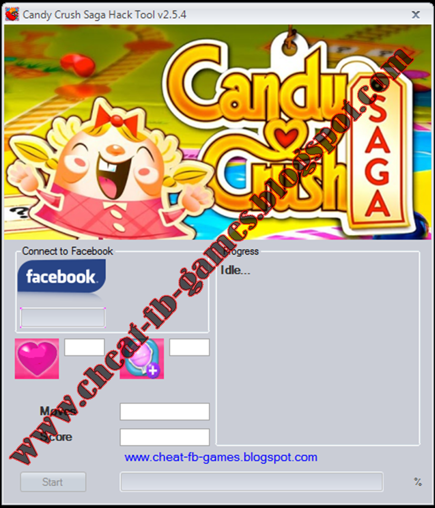 Candy Crush Saga Hack Cheat Tool v2.5.4 Free Download 2013 Proof 1