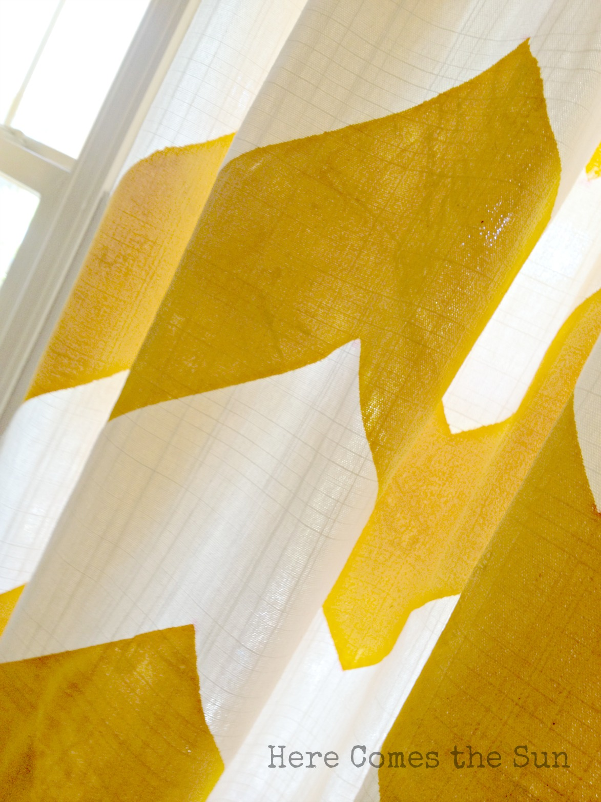 Light Blue And Yellow Curtains Yellow chevron curtains