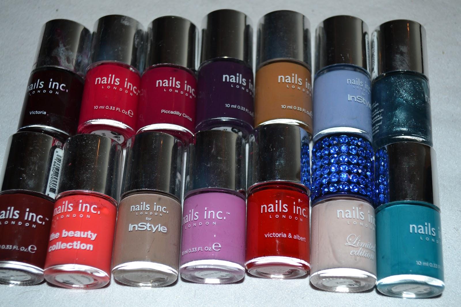 Forevermissvanity - A UK Lifestyle Blogger : Nail Inc for Glamour ...