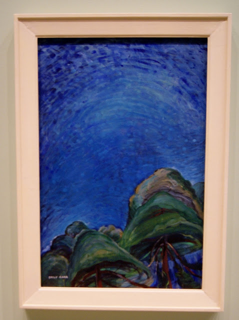 From the Forest to the Sea: Emily Carr in British Columbia Exhibit at Art Gallery of Ontario in Toronto, exhibition, paintings, forest, Canada, artist, woman, AGO, culture, art,artmatters, The Purple Scarf, Melanie.Ps, native, aboriginal, above the trees