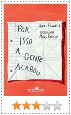 Por isso a gente acabou - Daniel Handler - Capa do livro em português