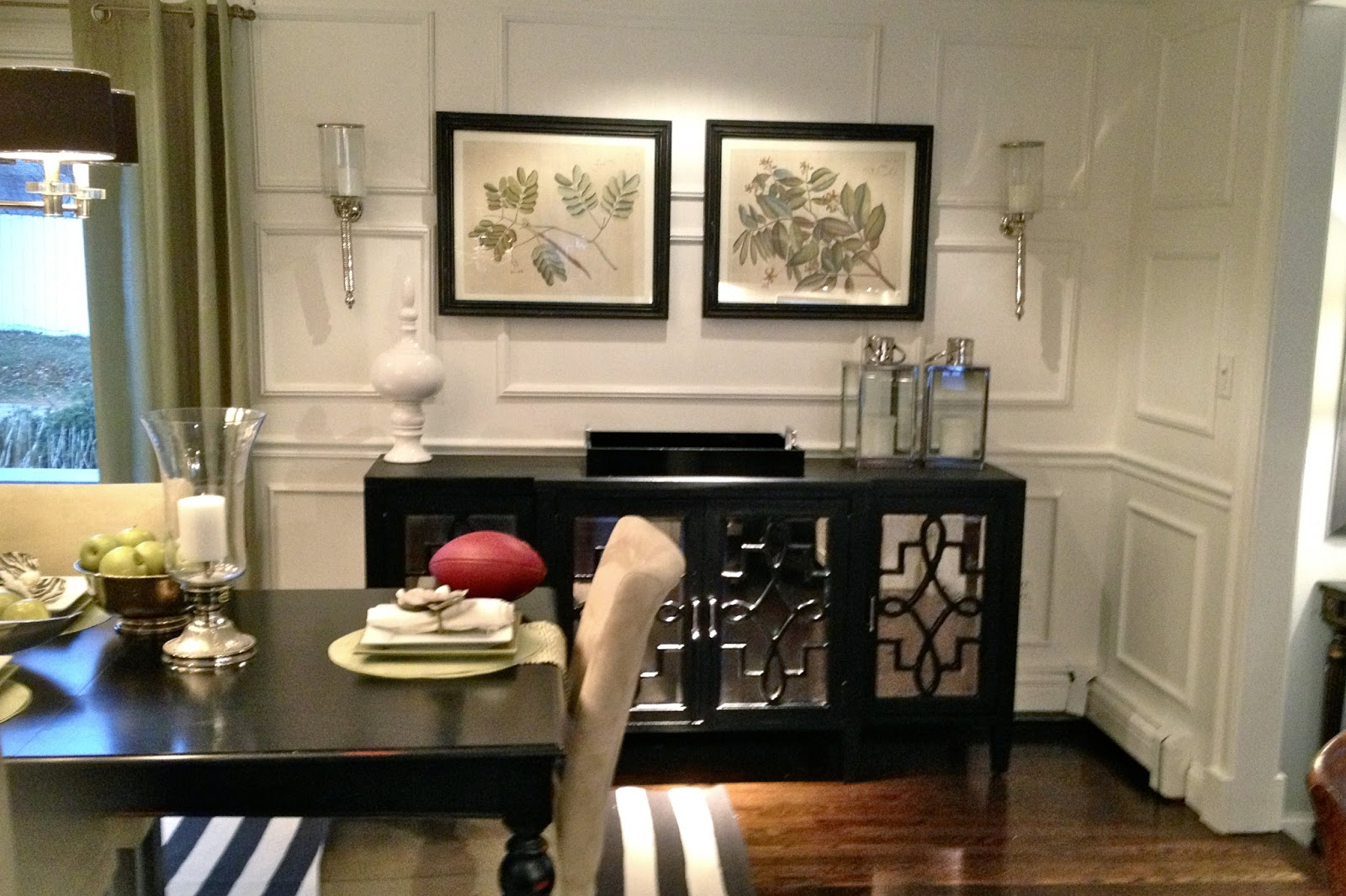 Kitchen Credenza Makeover. Tuesday, January 22, 2013