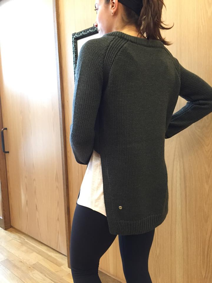 lululemon yin to you sweater