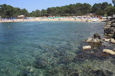 Port des Torrents Beach in Ibiza