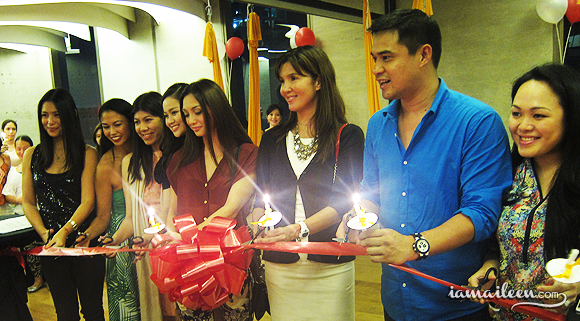 I am Aileen - Beyond Yoga Grand Launch Bonifacio High Street Ribbon Cutting