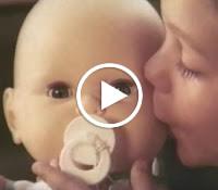 Propaganda da Boneca Bebezinho (Meu Bebê) da Estrela veiculada nos anos 70.