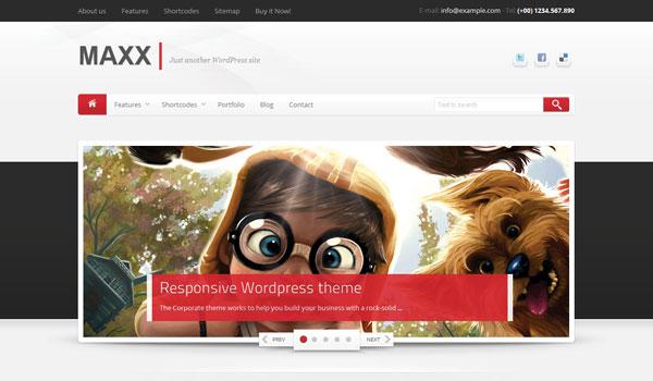 Maxx Wordpress Theme