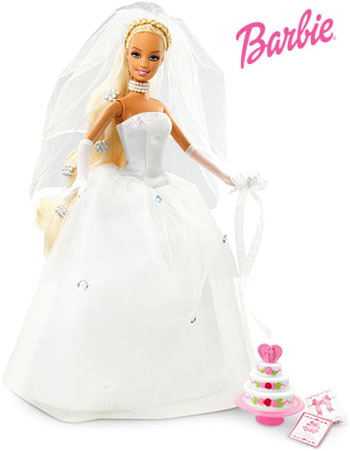 Barbie doll in Marriage Dress