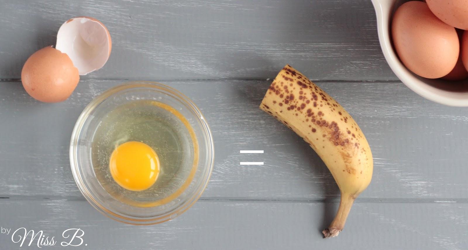 Ein ei ersetzen kuchen