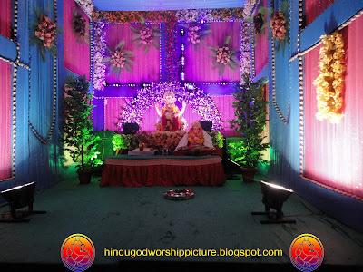 Beautiful Ganesh Chaturthi Embellishment Surat City 2011