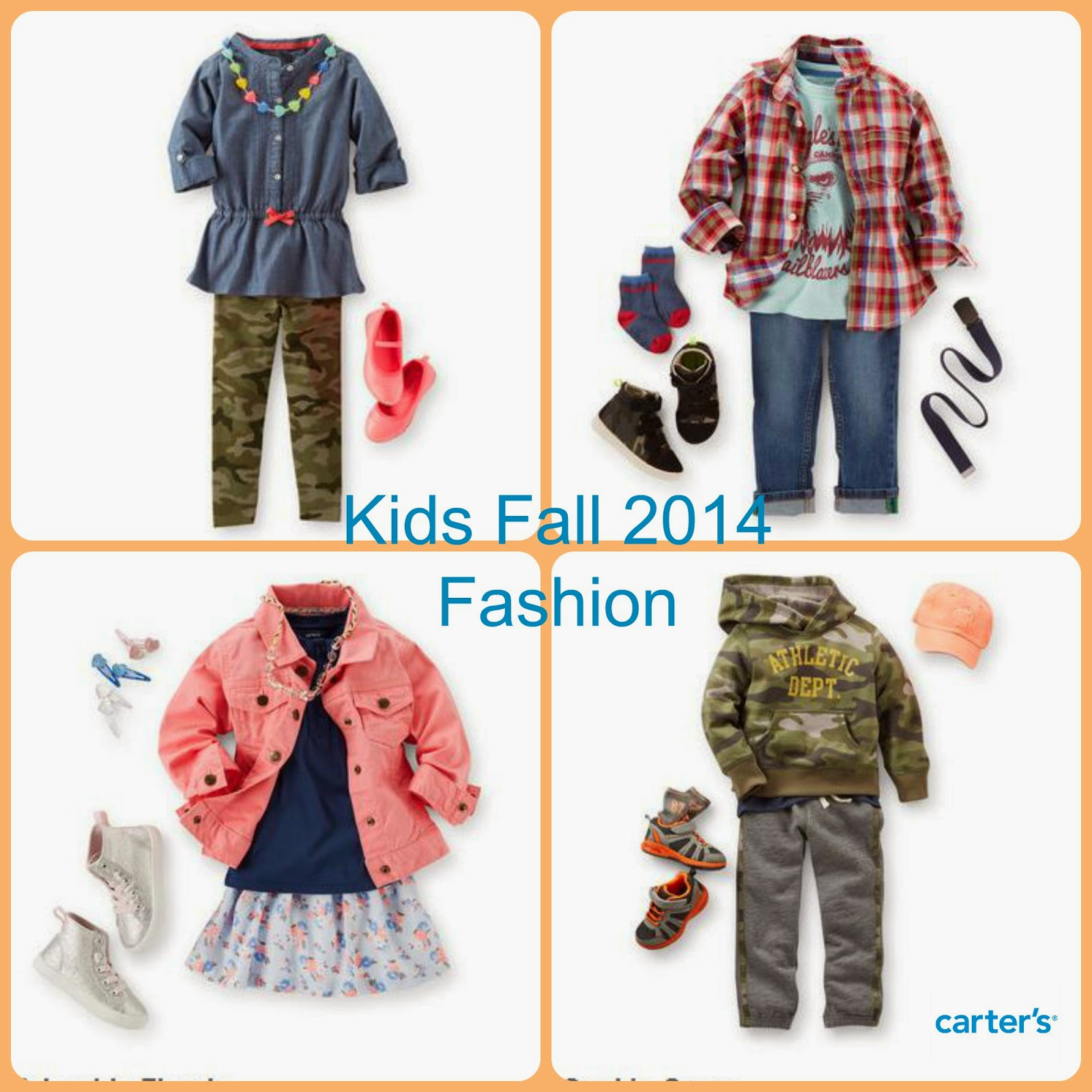 Fall Trends for Kids #CartersFallStyle