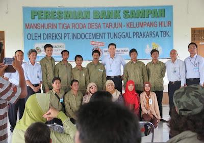 Indocement Resmikan Bank Sampah